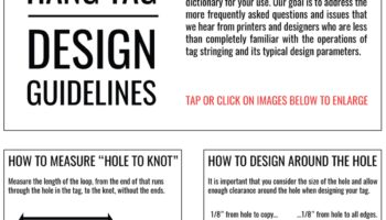 An excerpt from our Design Guidelines. (mfstringing.com/design-guidelines)