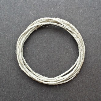 A coil of 6-ply hemp.