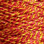 Spool of custom red/yellow 2400 Pearlray.