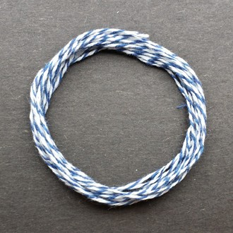 A coil of our blue bakery twine.
