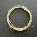 A coil of jute twine.