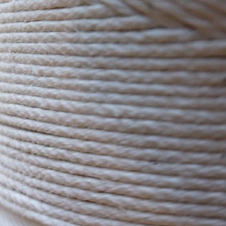 A spool of our polished cord.