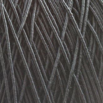 A spool of our standard elastic in black.