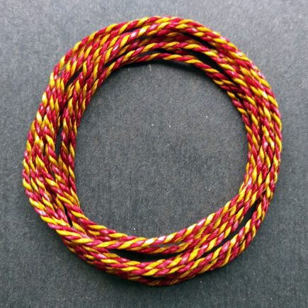 Coil of custom red/yellow 2400 Pearlray.