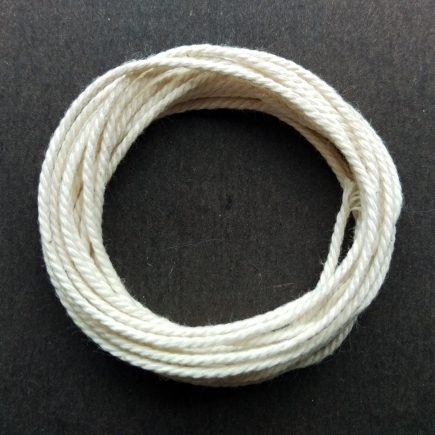 A coil of Cotton Rope Cord.